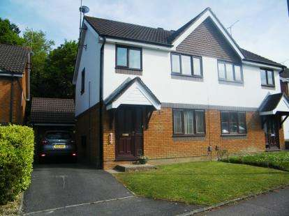 3 Bedrooms Semi Detached House for sale in Upton, Poole
