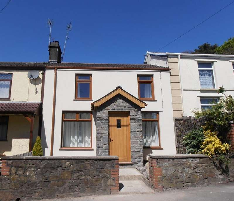 3 Bedrooms Terraced House for sale in Merthyr Road, Llwydcoed, Aberdare
