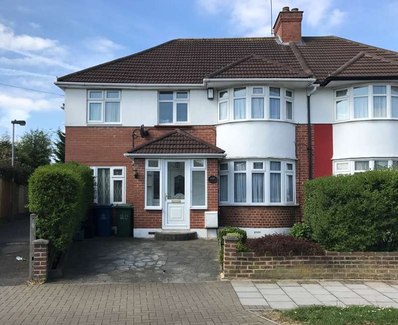 5 Bedrooms Semi Detached House for sale in Twyford Road, Rayners Lane, Harrow, Middlesex, HA2 0SN