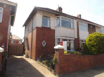 3 Bedrooms Semi Detached House for sale in Banbury Terrace, South Shields, Tyne and Wear, NE34