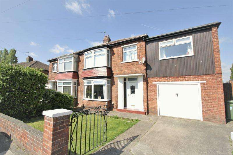 4 Bedrooms Semi Detached House for sale in Lime Grove, Fairfield, Stockton, TS19 7DE