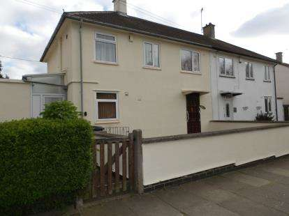 3 Bedrooms Semi Detached House for sale in Armadale Drive, Leicester