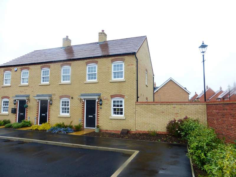 2 Bedrooms End Of Terrace House for sale in Carding Way, Kempston, BEDFORD, MK42