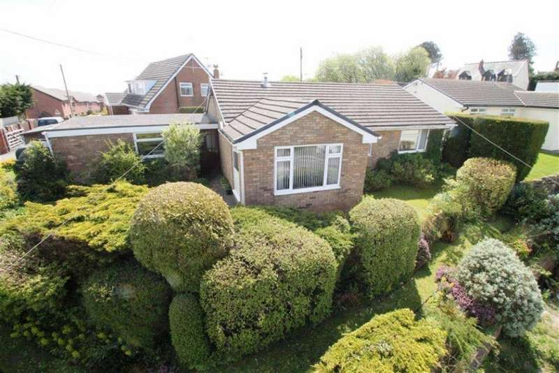 3 Bedrooms Detached Bungalow for sale in Stryt Maelor, Bwlchgwyn, Wrexham