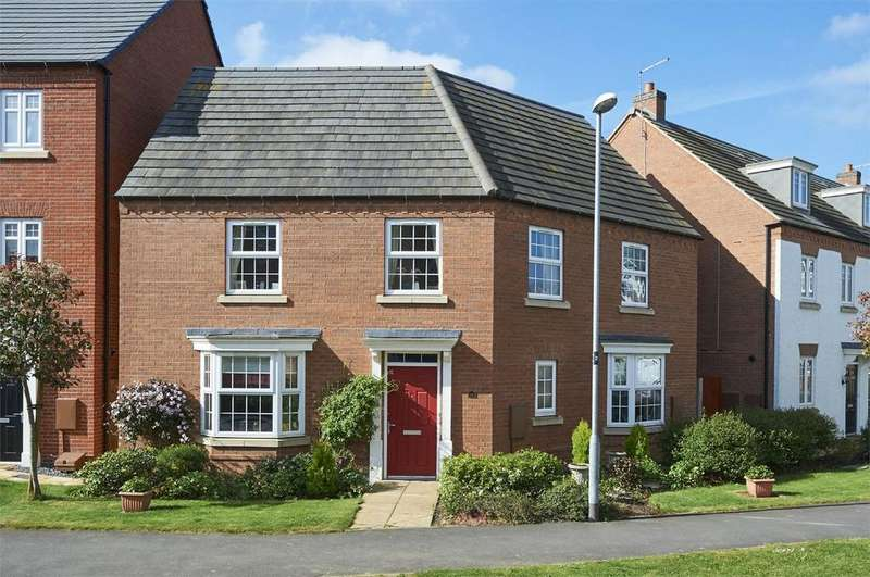 4 Bedrooms Detached House for sale in Freshman Way, Market Harborough, Leicestershire