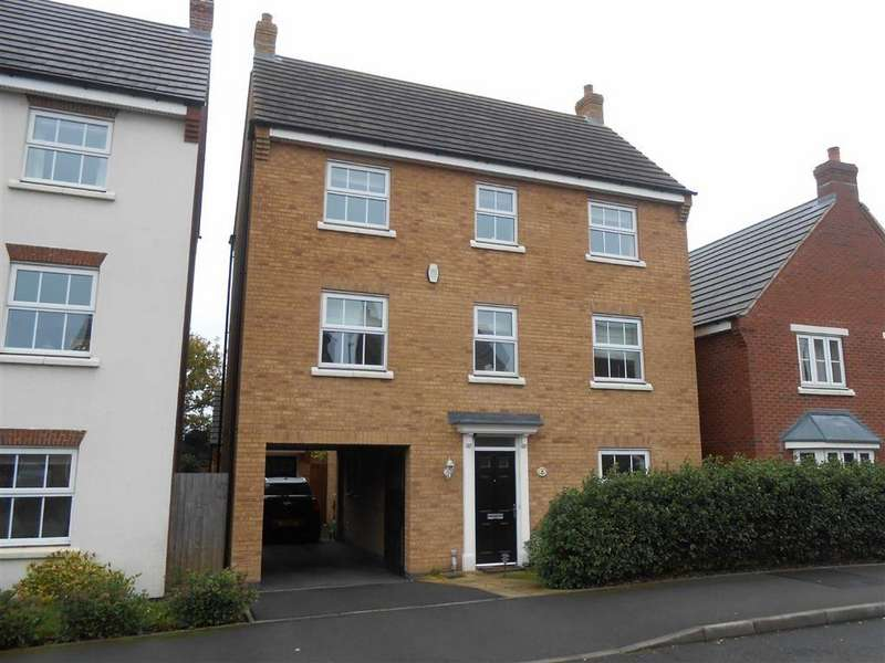 4 Bedrooms Detached House for sale in Hough Way, Essington, Wolverhampton