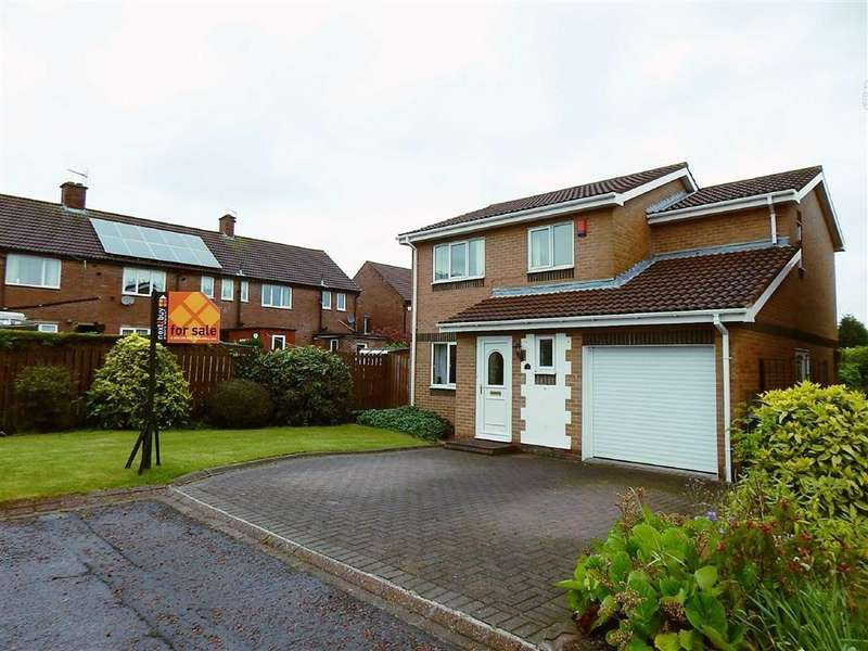 4 Bedrooms Detached House for sale in Stamfordham Close, Wallsend, Tyne And Wear, NE28