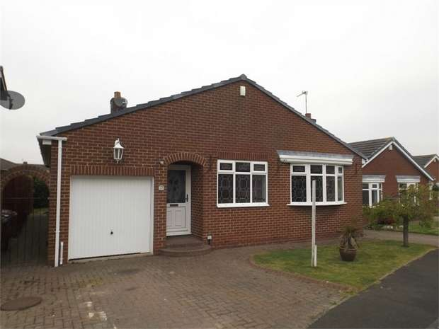2 Bedrooms Detached Bungalow for sale in Robin Court, East Rainton, Houghton le Spring, Tyne and Wear