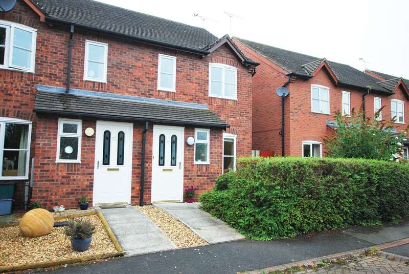 2 Bedrooms End Of Terrace House for sale in Rean Meadow, Tattenhall
