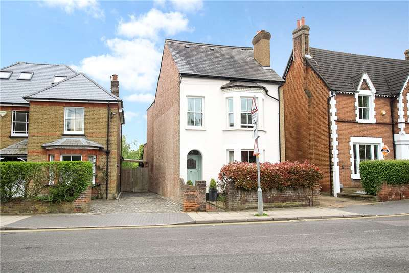 4 Bedrooms Detached House for sale in Stanhope Road, St. Albans, Hertfordshire, AL1