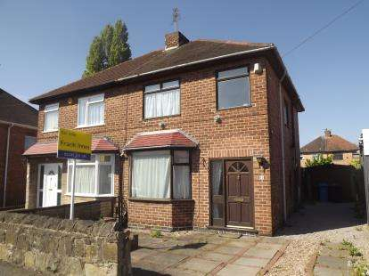 3 Bedrooms Semi Detached House for sale in Wilson Road, Chaddesden, Derby, Derbyshire