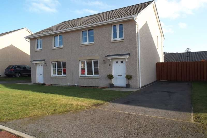 3 Bedrooms Semi Detached House for sale in Doocot Court, Elgin, IV30