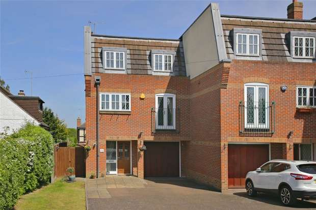 4 Bedrooms End Of Terrace House for sale in Theobald Street, BOREHAMWOOD, Hertfordshire