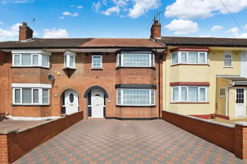 3 Bedrooms Terraced House for sale in Wilsden Avenue, Farley Hill, Luton, LU1 5HR