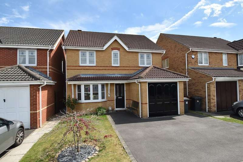 3 Bedrooms Detached House for sale in Marguerite Way, Bishop's Stortford
