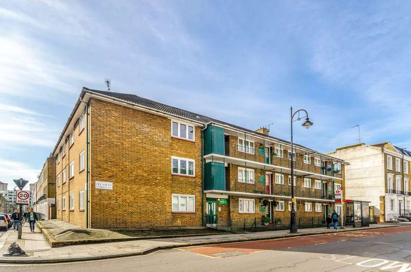 3 Bedrooms Flat for sale in Delancey Street, Camden, NW1