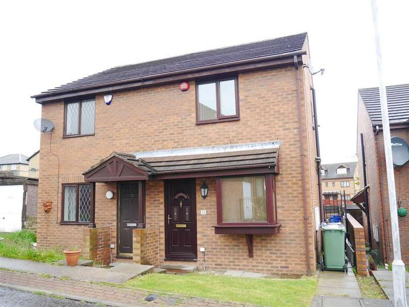 2 Bedrooms Semi Detached House for sale in Meadowcroft Rise, Bierley, BD4 6EP