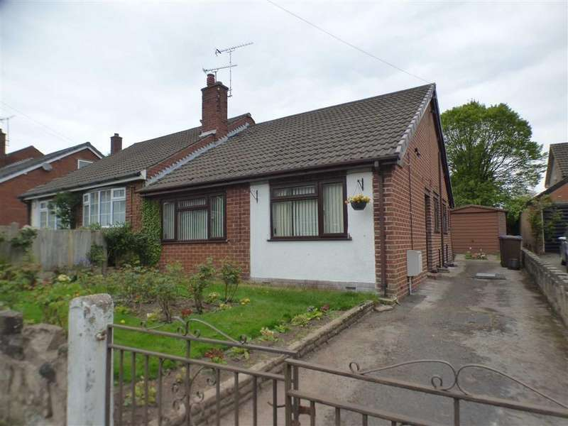 2 Bedrooms Semi Detached Bungalow for sale in 2, Coplow Avenue, Upper Tean