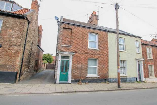 3 Bedrooms End Of Terrace House for sale in 15 Valingers Road, King's Lynn
