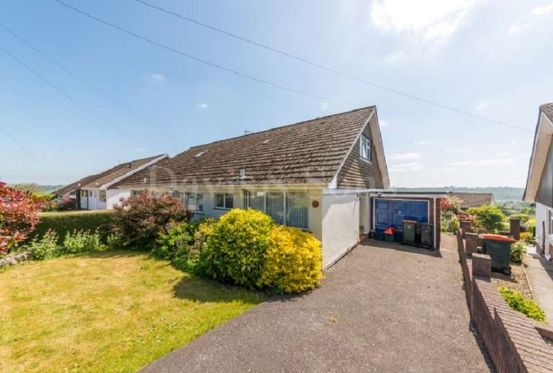 3 Bedrooms Semi Detached Bungalow for sale in Anthony Drive, Caerleon, Newport. NP18 3DX