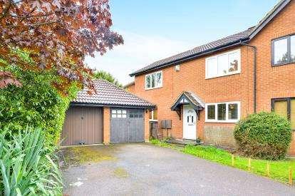 3 Bedrooms Semi Detached House for sale in Porlock Lane, Furzton, Milton Keynes