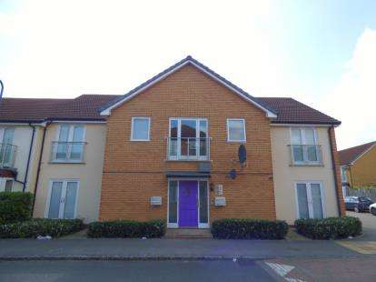 2 Bedrooms Flat for sale in Bewdley Grove, Broughton, Milton Keynes, Buckinghamshire