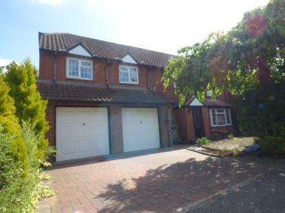 5 Bedrooms Detached House for sale in Aldrich Drive, Willen, Milton Keynes