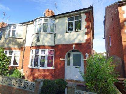3 Bedrooms End Of Terrace House for sale in Delapre Crescent Road, Northampton, Northamptonshire, Northants