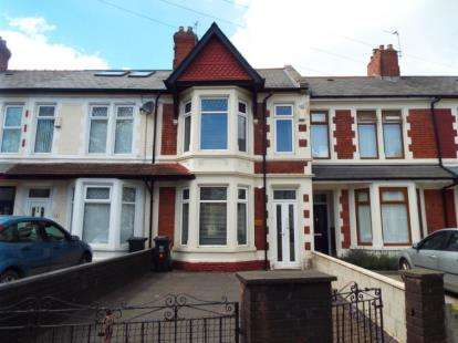 3 Bedrooms Terraced House for sale in Moorland Road, Cardiff, Caerdydd