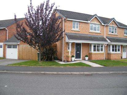 3 Bedrooms Semi Detached House for sale in Thrush Way, Winsford, Cheshire