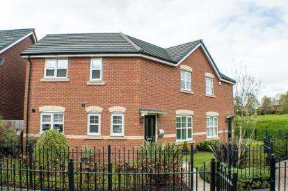 3 Bedrooms Semi Detached House for sale in Wallbrook Avenue, Macclesfield, Cheshire