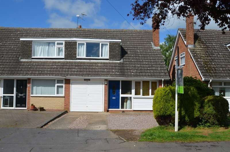 3 Bedrooms Semi Detached House for sale in Wolsey Road, Woodlands, Rugby