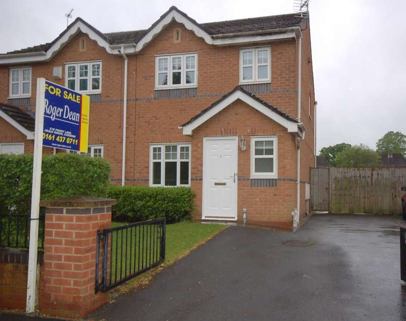 3 Bedrooms Semi Detached House for sale in Broadoak Drive, Benchill, Manchester M22