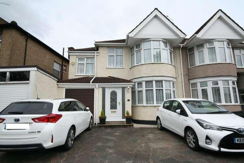 4 Bedrooms Semi Detached House for sale in Kenton Lane, Kenton HA3