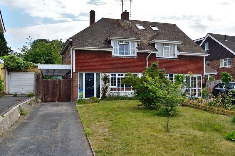 3 Bedrooms Semi Detached House for sale in Allendale Road, Earley, Reading, Berkshire, RG6 7PD