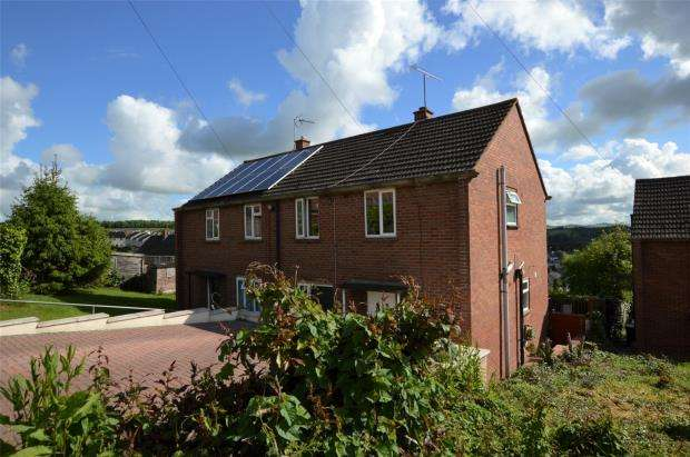 3 Bedrooms End Of Terrace House for sale in Butt Parks, Crediton, Devon