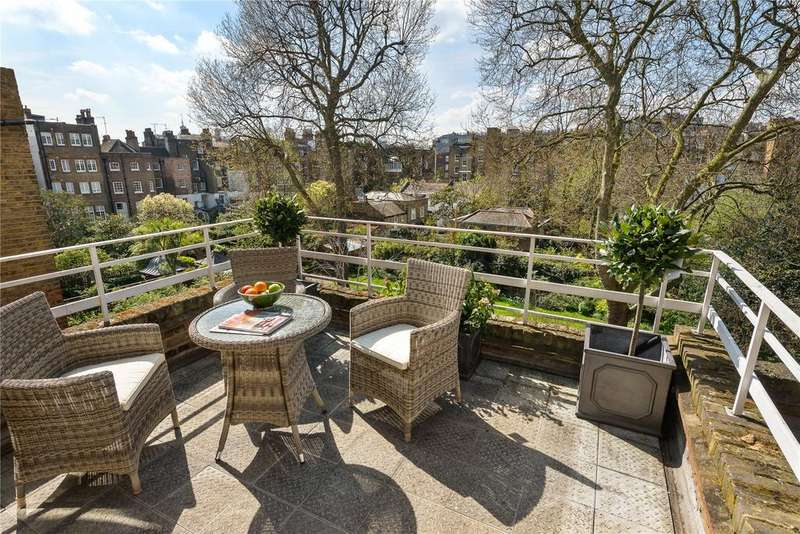 3 Bedrooms Flat for sale in Cheyne Gardens, London