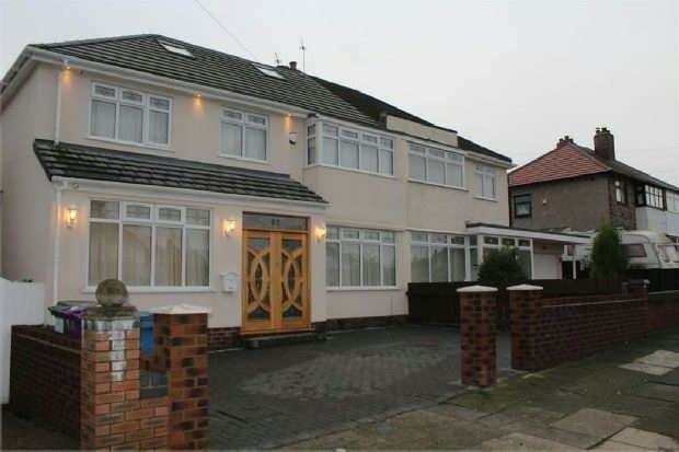 6 Bedrooms Semi Detached House for sale in Manor Road , Liverpool