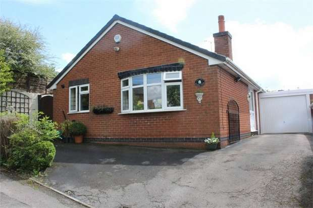 2 Bedrooms Detached Bungalow for sale in Sunnyside, Kingsley, Stoke-on-Trent, Staffordshire
