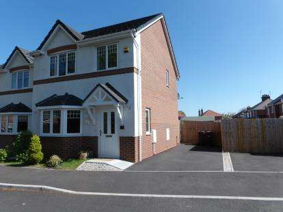 3 Bedrooms Detached House for sale in Grange Court, Mancot, Deeside, Flintshire, CH5