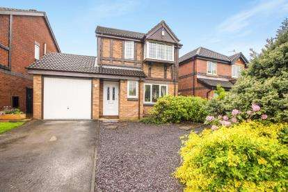 3 Bedrooms Detached House for sale in Brantwood Drive, Leyland, Lancashire, ., PR25