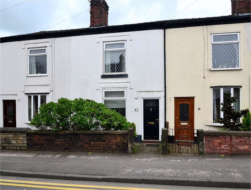 2 Bedrooms Terraced House for sale in Chester Road, Hazel Grove, Stockport SK7 5NU