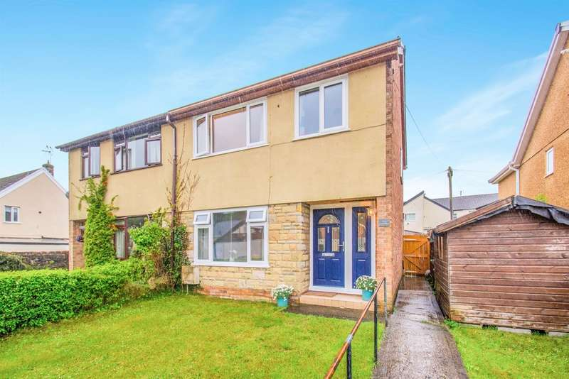 3 Bedrooms Semi Detached House for sale in Francis Street, Thomastown, Porth
