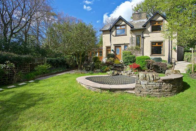 4 Bedrooms Detached House for sale in The Old Manse Slaymaker Lane, Oakworth