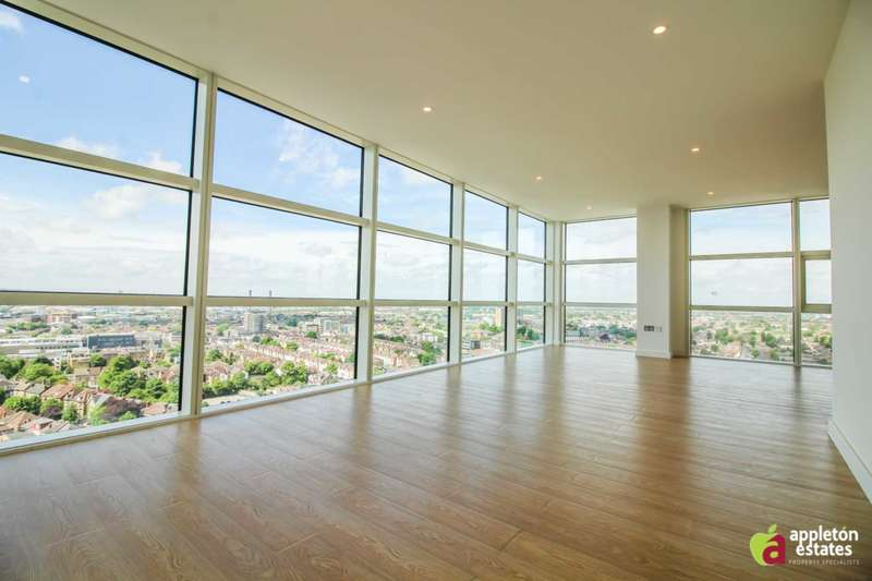 2 Bedrooms Penthouse Flat for sale in The Island, Croydon