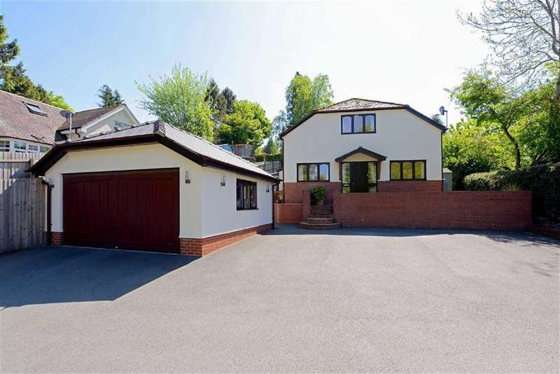 5 Bedrooms Detached House for sale in Sandford Avenue, Church Stretton, Shropshire