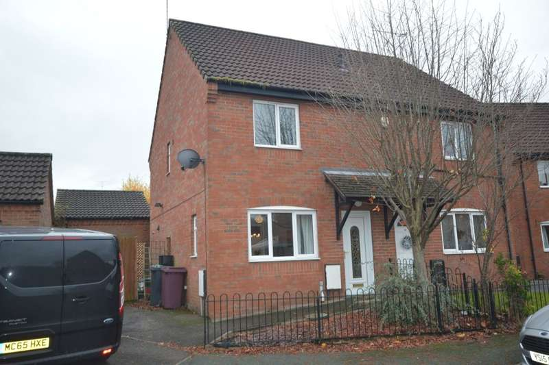 2 Bedrooms Semi Detached House for sale in Oak Tree Close, Arkwright Town, Chesterfield, S44