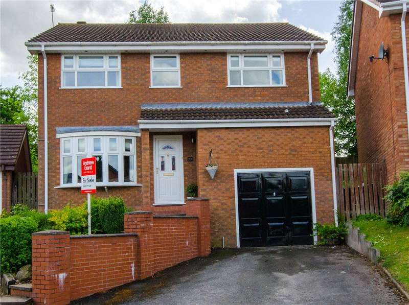 5 Bedrooms Detached House for sale in Lahn Drive, Droitwich, Worcestershire, WR9