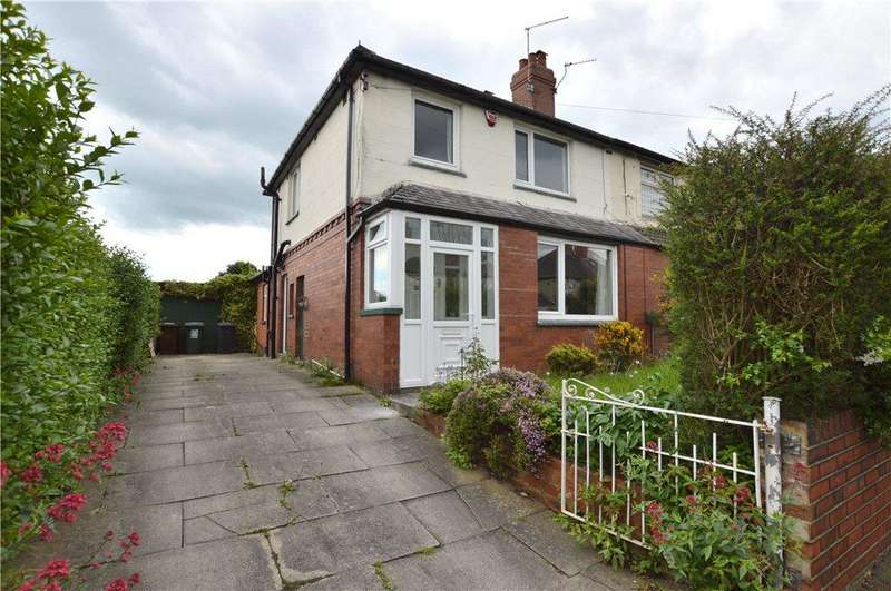 3 Bedrooms Semi Detached House for sale in Gipton Wood Place, Oakwood, Leeds