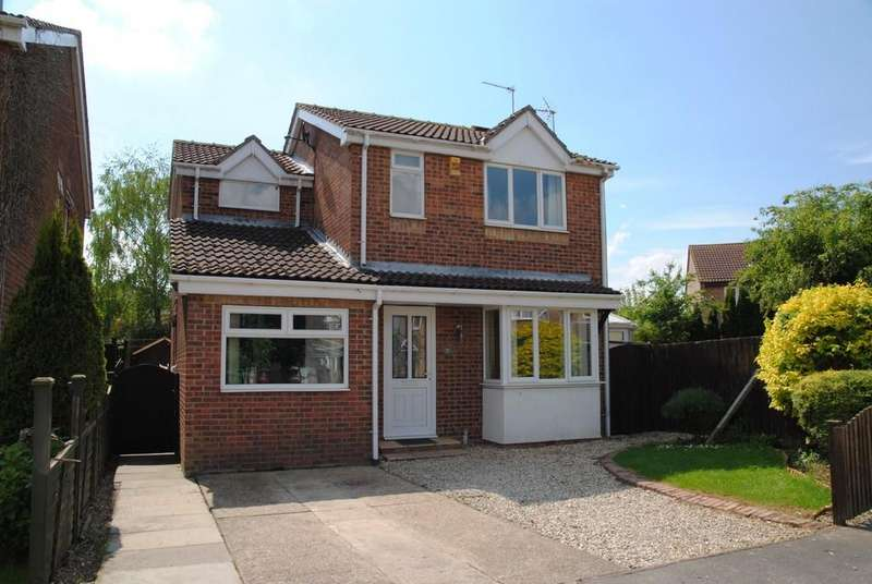 3 Bedrooms Detached House for sale in Maysfield Court, Hibaldstow